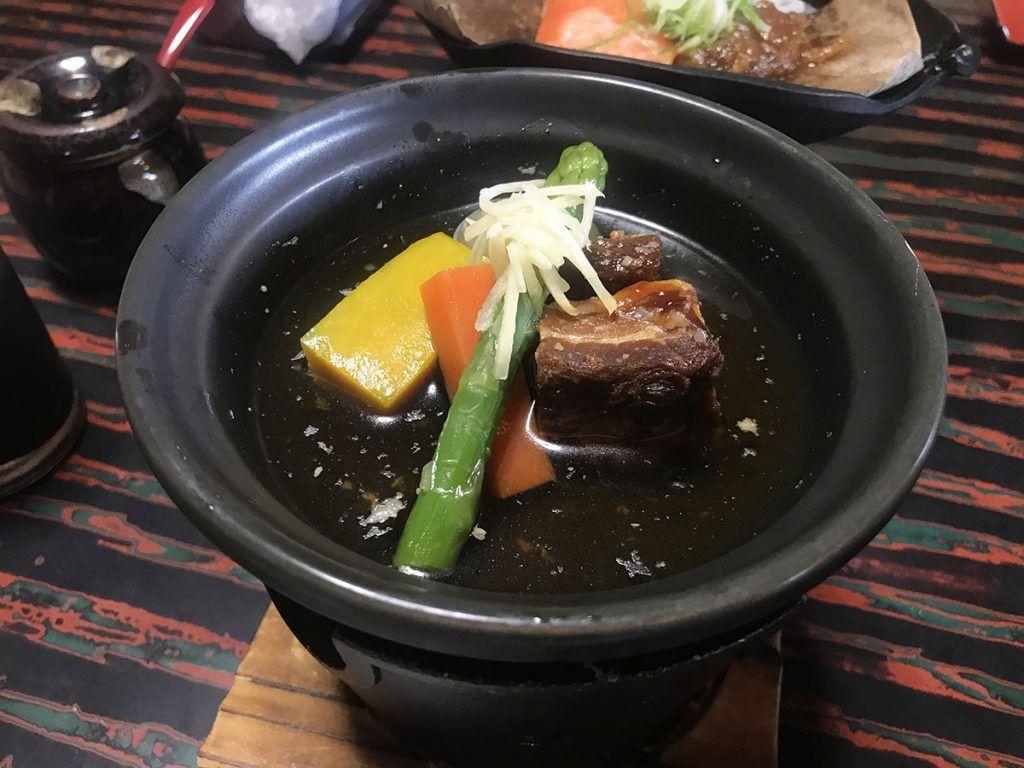 La desayuno en Yunoshimakan