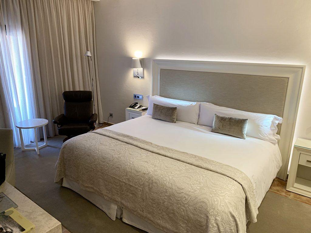 Nuestra habitación en el hotel La Caminera