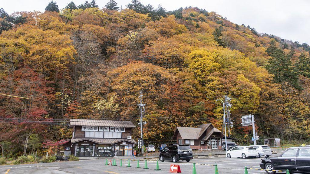 Alrededores del Hiratakan: Hirayu Onsen