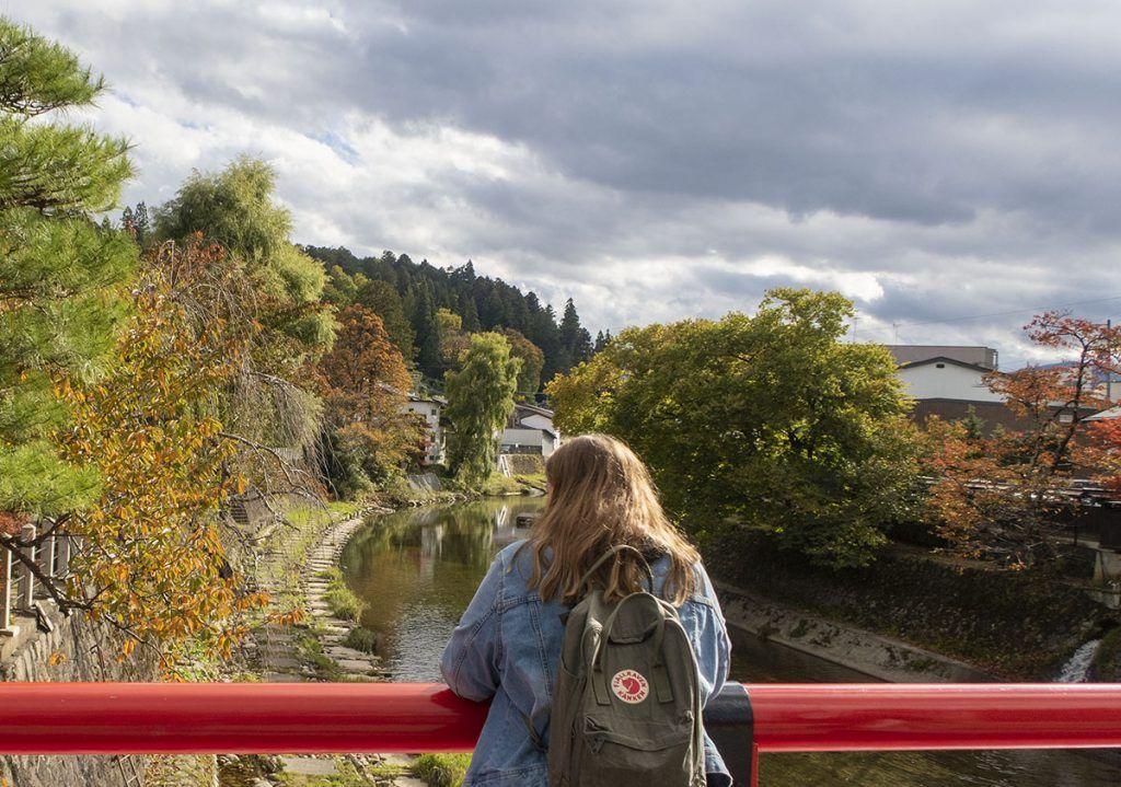 Qué ver en Takayama: puente Nakabashi