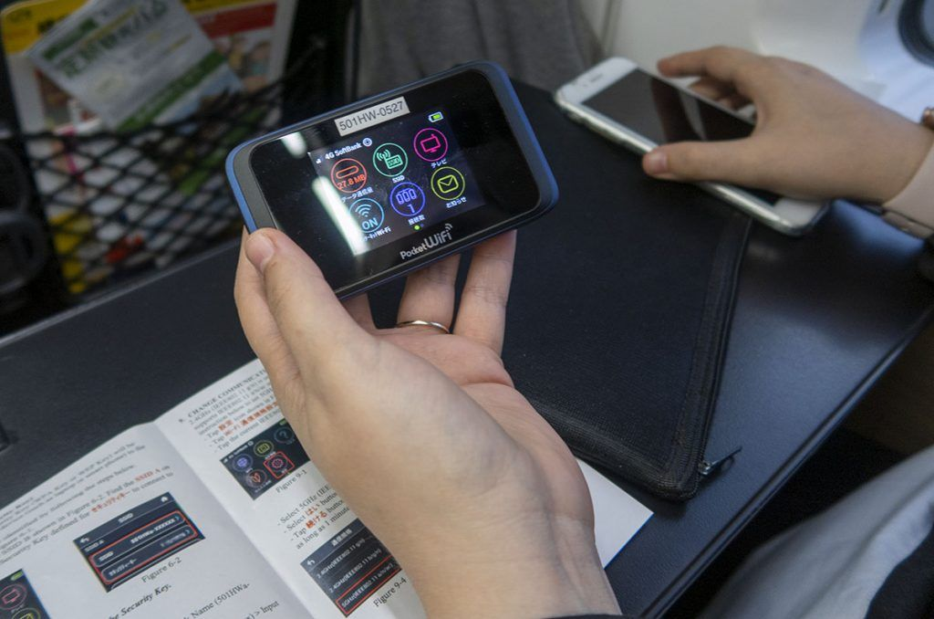 Cómo tener internet en Japón: Pocket WIFI
