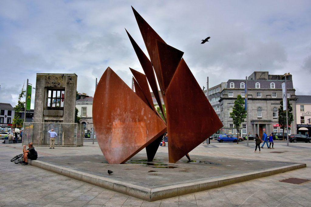 Qué ver en Galway: Eyre Square