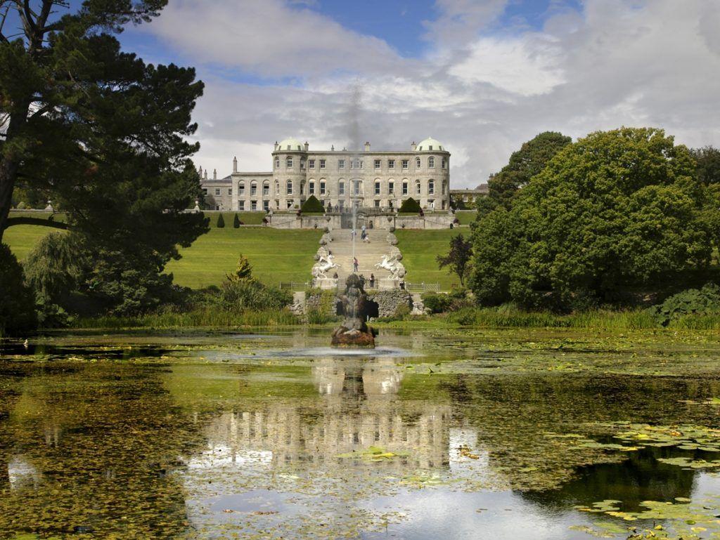 Primera etapa de nuestra ruta por Irlanda: Powerscourt Estate
