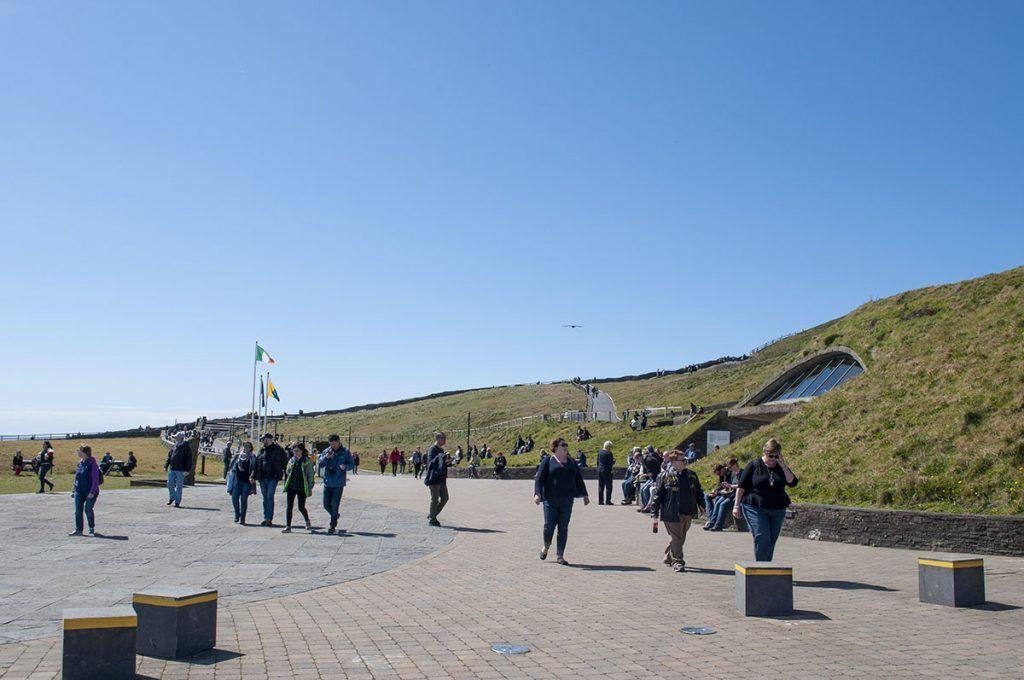 Centro de visitantes de los Cliffs of Moher