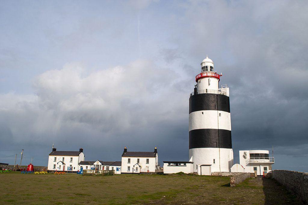 Primera etapa de nuestra ruta por Irlanda: Faro de Hook