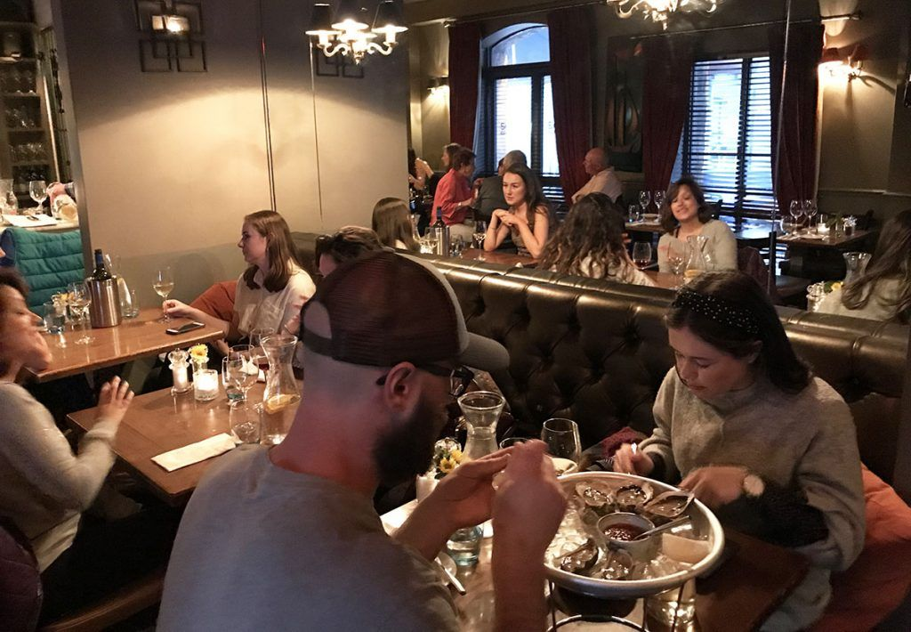 Dónde comer en Galway: The Seafood Bar at Kirwan's