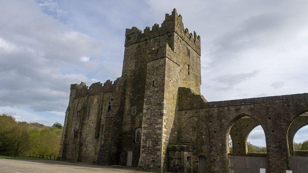 Primera etapa de nuestra ruta por Irlanda: Tintern Abbey