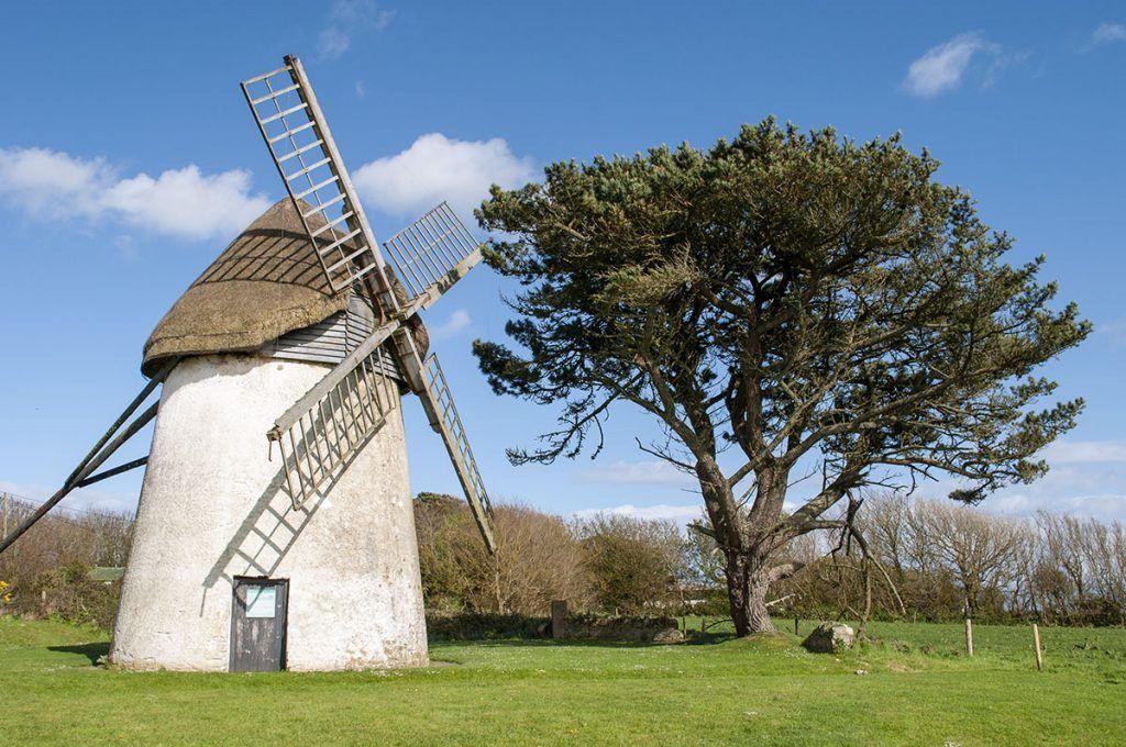 Primera etapa de nuestra ruta por Irlanda: Molino de viento de Tucumshane
