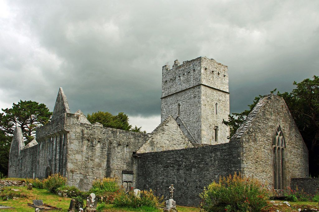 Tercera etapa de nuestra ruta por Irlanda (Ring of Kerry): Muckross Abbey