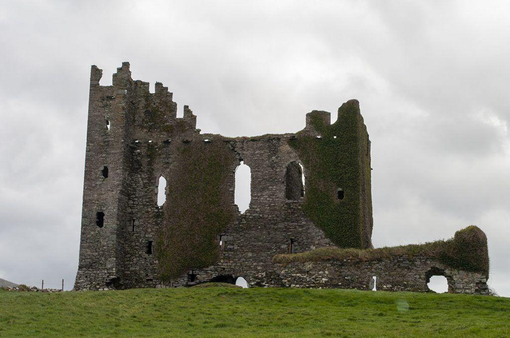 Tercera etapa de nuestra ruta por Irlanda (Ring of Kerry): Ballycarberry Castle