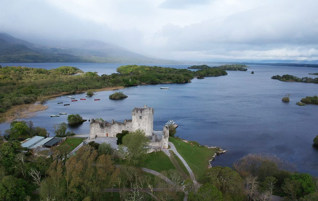 Tercera etapa de nuestra ruta por Irlanda (Ring of Kerry): Ross Castle