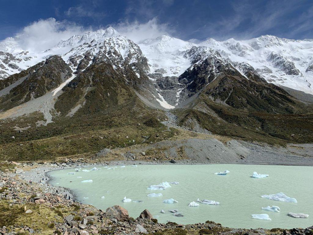 Viajar a Nueva Zelanda: Hooker Valley Track