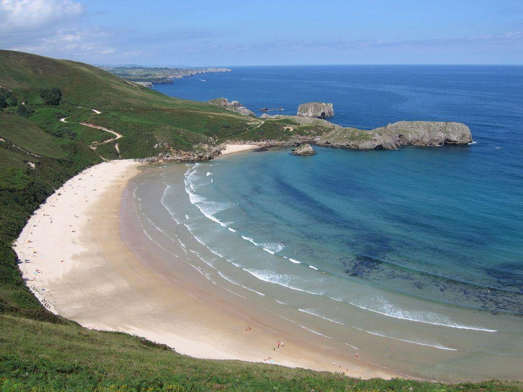 Las playas más bonitas de España: Playa de Torimbia