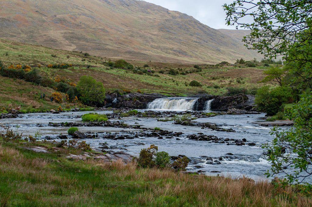 Quinta etapa de nuestra ruta por Irlanda: Aasleagh Fall