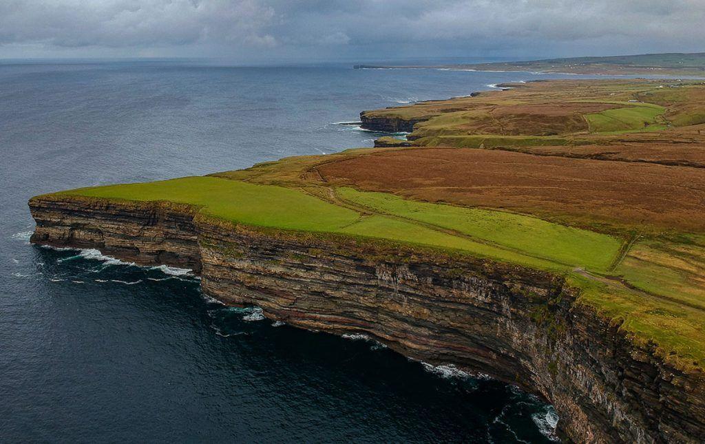 Quinta etapa de nuestra ruta por Irlanda: Downpatrick Head