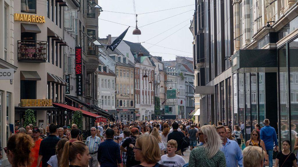 Qué ver en Copenhague: Calle Stroget