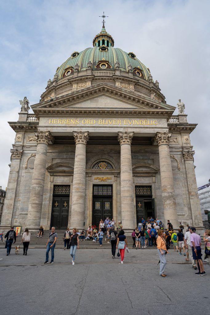 Qué ver en Copenhague: Iglesia de Mármol