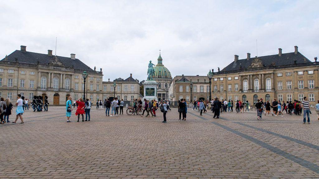 Qué ver en Copenhague: Palacio de Amalienborg
