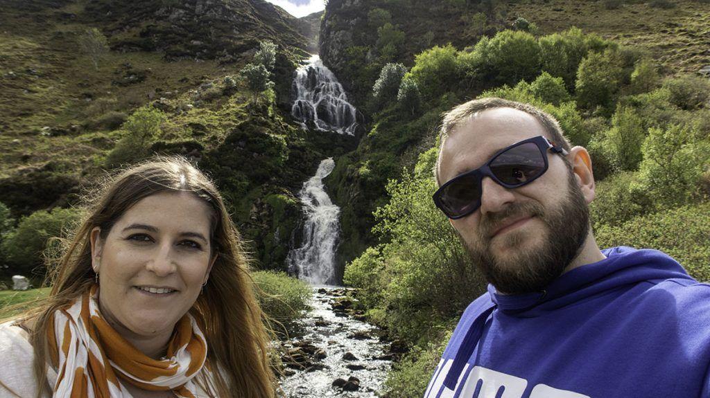 Sexta etapa de nuestra ruta por Irlanda: Assaranca Fall