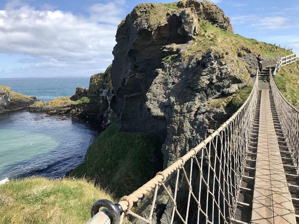 Visitar puente Carrick-a-Rede - Cuánto cuesta un viaje a Irlanda