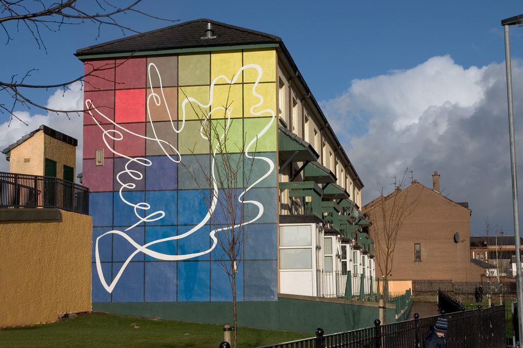 Qué ver en Derry: Peace Mural
