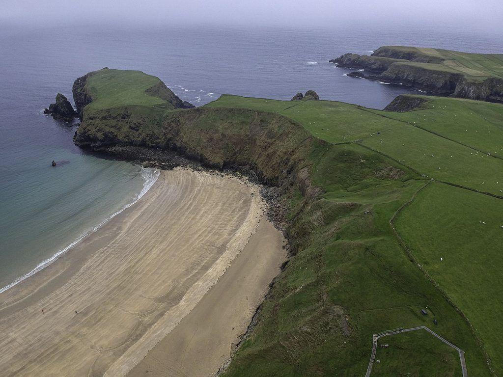 Sexta etapa de nuestra ruta por Irlanda: Silver Strand Beach