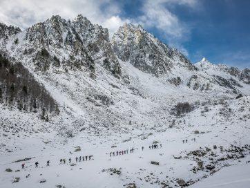 Practicar esquí estas Navidades