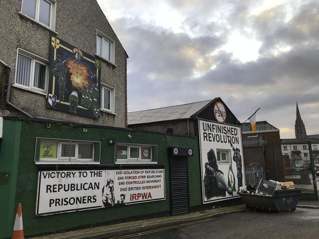 Sexta etapa de nuestra ruta por Irlanda: Derry