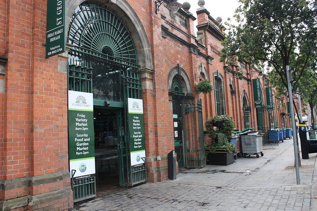 Qué ver en Belfast: St George Market