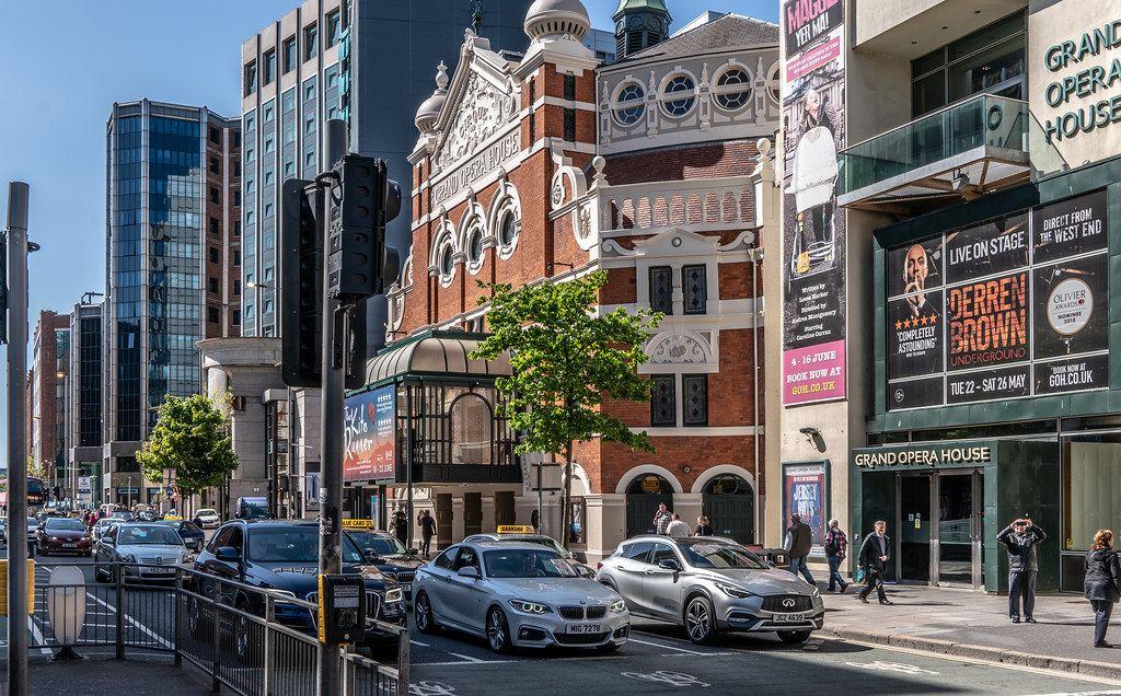 Qué ver en Belfast: Grand Opera House