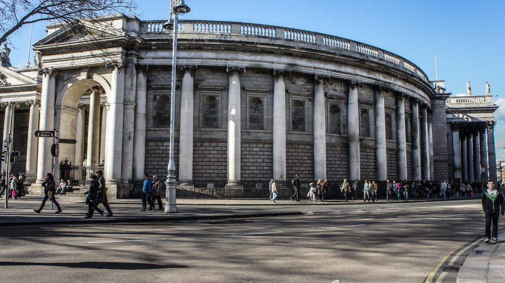 Qué ver en Dublín: Bank of Ireland