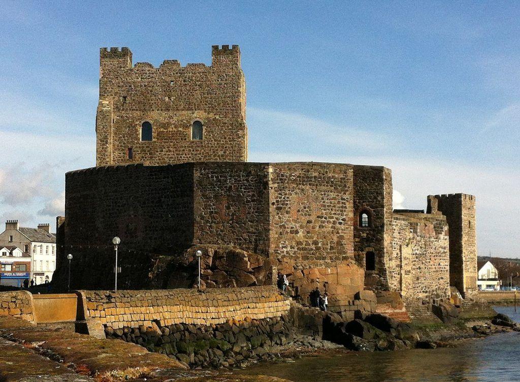 Séptima etapa de nuestra ruta por Irlanda: Carrickfergus Castle