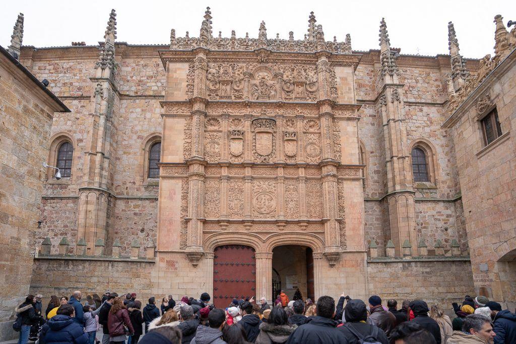 Qué ver en Salamanca: Fachada de la Universidad