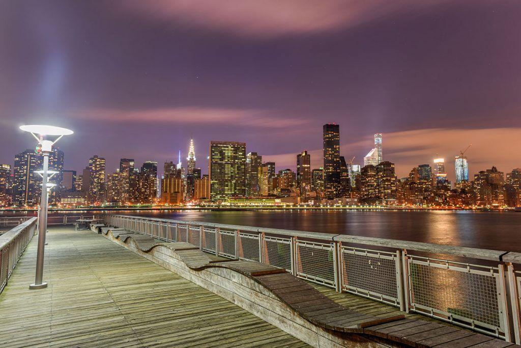 Las mejores vistas de Nueva York: Gantry Plaza State Park