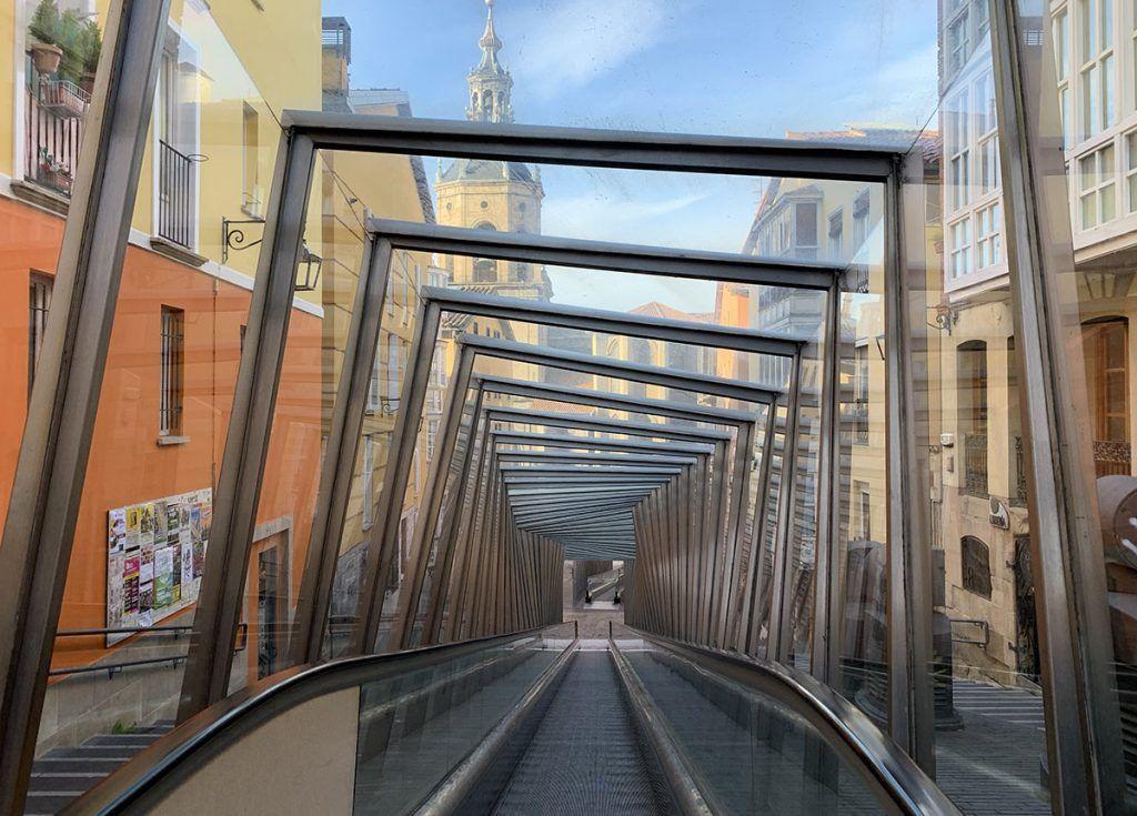 Qué ver en Vitoria: pasillos rodantes
