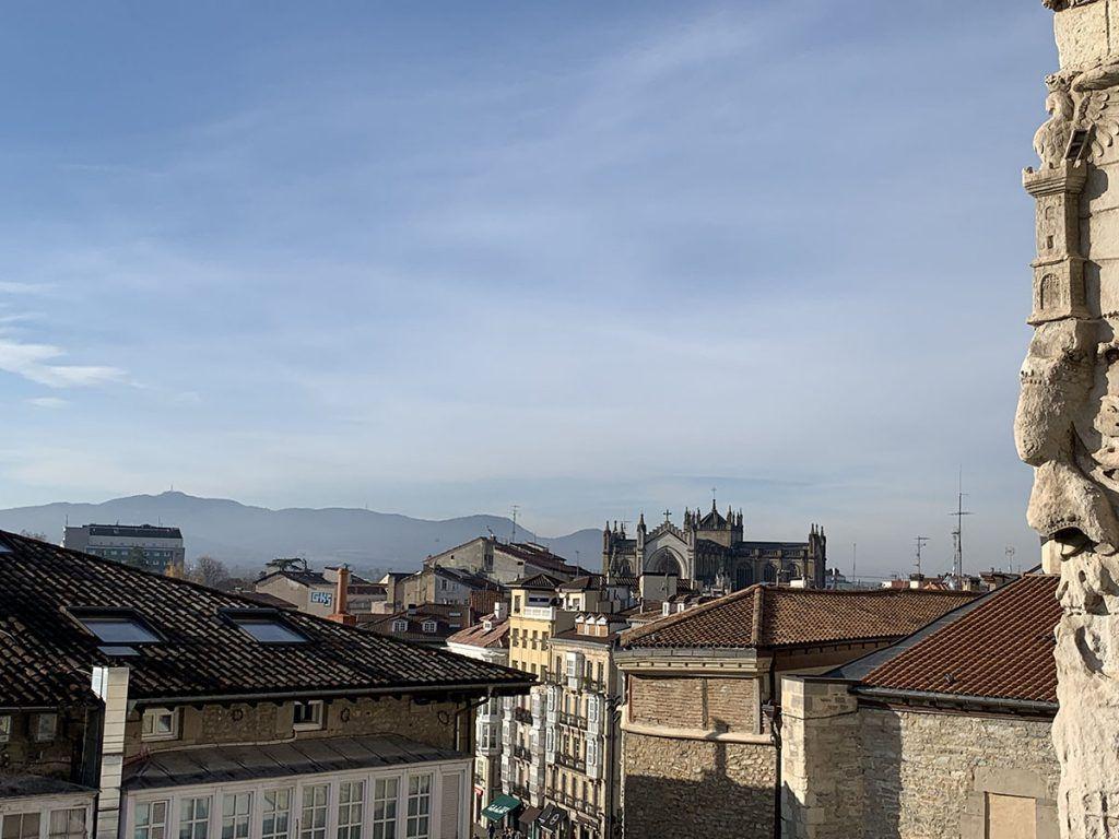 Qué ver en Vitoria: tejados de Vitoria