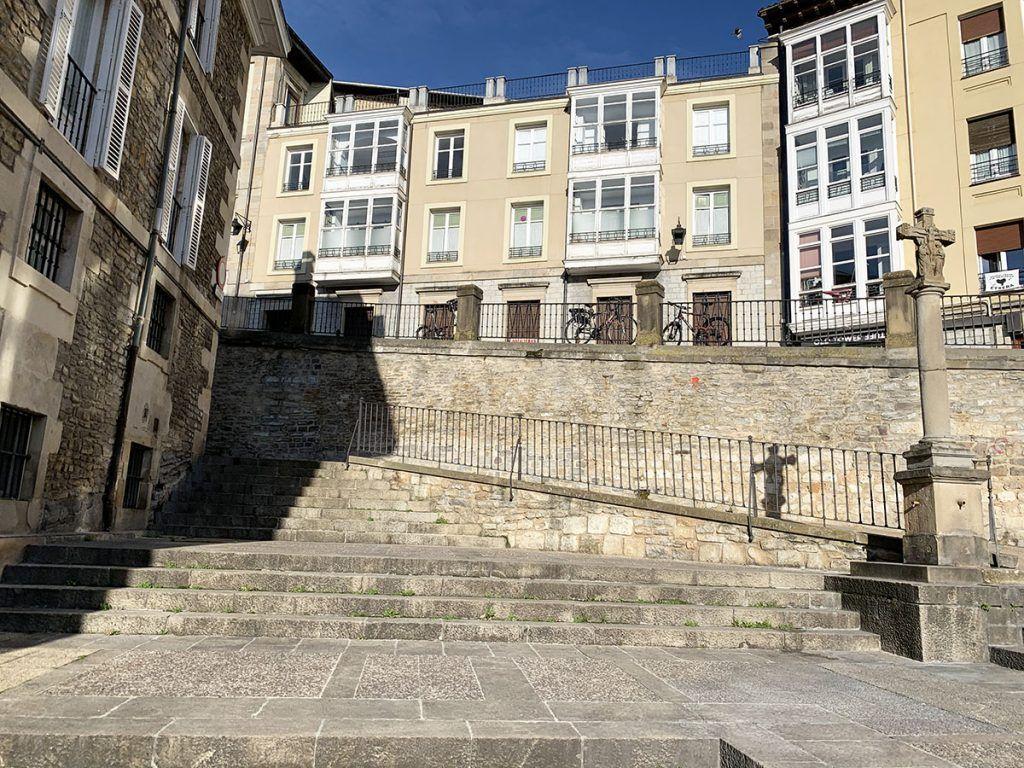 Qué ver en Vitoria: Parte trasera de la Plaza del Machete