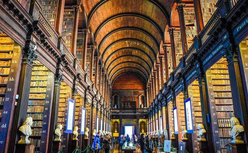 Qué ver en Dublín: Old Library en el Trinity College