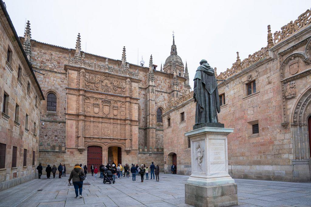 Qué ver en Salamanca: Patio de Escuelas