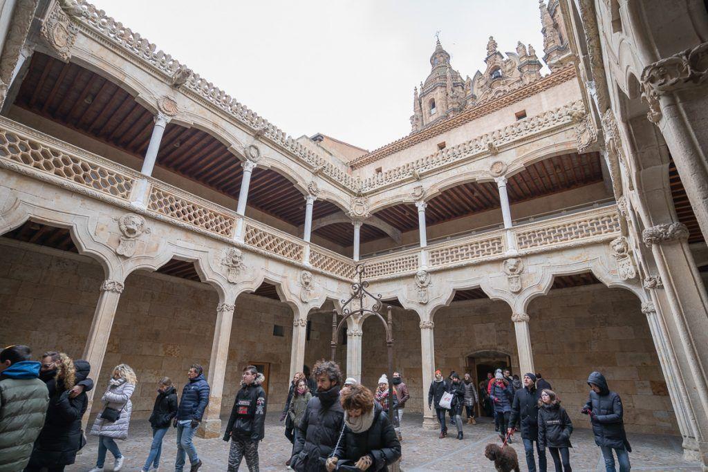 Qué ver en Salamanca: Patio de la Casa de las Conchas