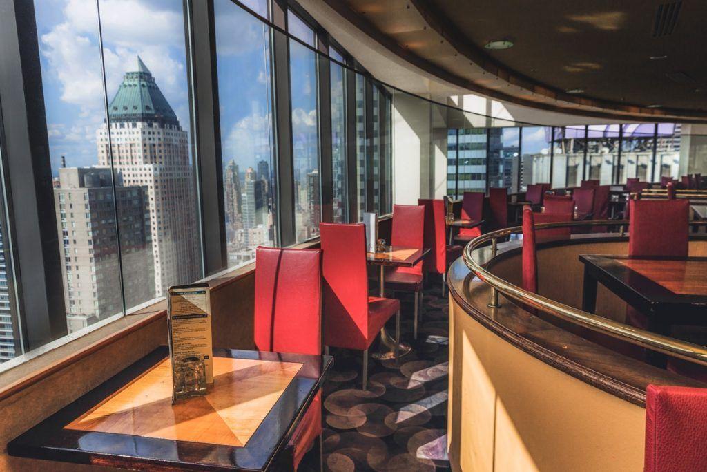 Las mejores vistas de Manhattan: Restaurante The View