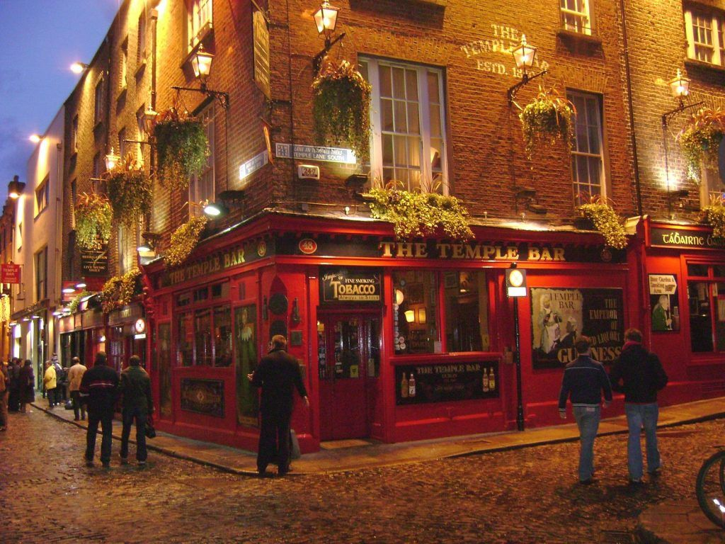 Qué ver en Dublín: Temple Bar