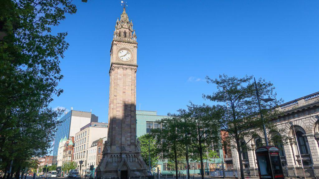 Qué ver en Belfast: Albert Memorial Clock Tower