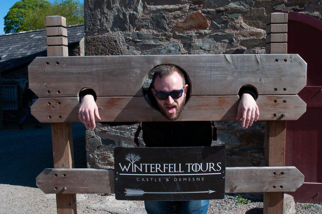 Octava etapa de nuestra ruta por Irlanda: Invernalia en Castle Ward