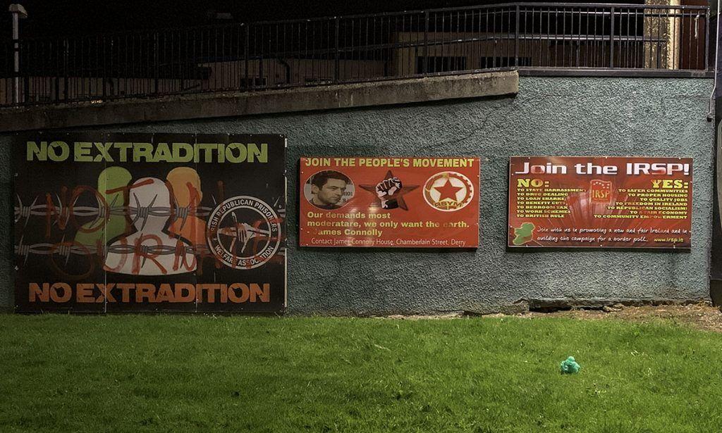 Qué ver en Derry: Carteles reivindicativos