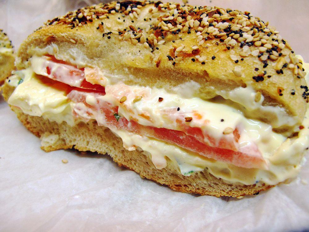 Comer barato en Nueva York: Ess-a-bagel