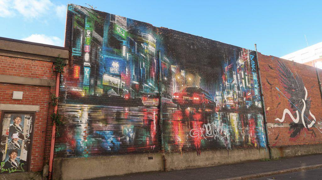 Qué ver en Belfast: grafittis en Belfast