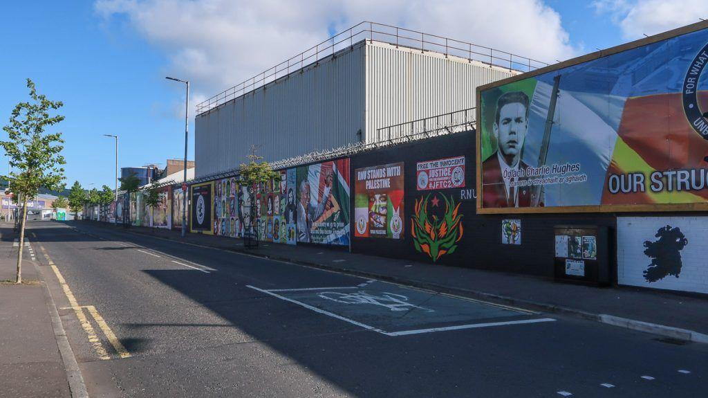 Qué ver en Belfast: murales de Belfast