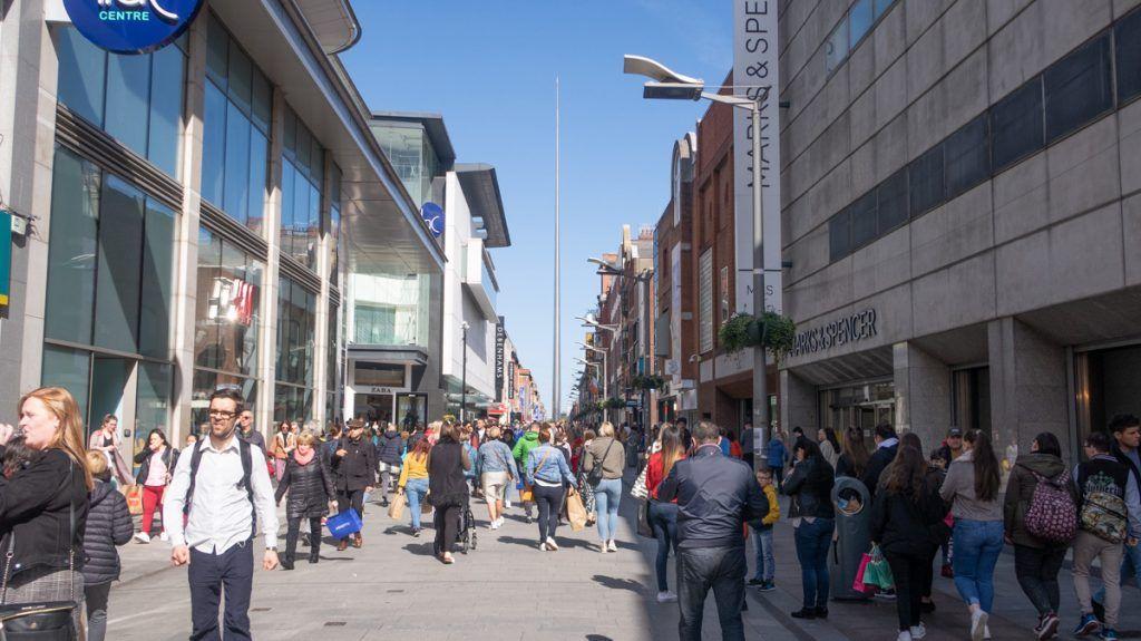 Qué ver en Dublín: Henry Street
