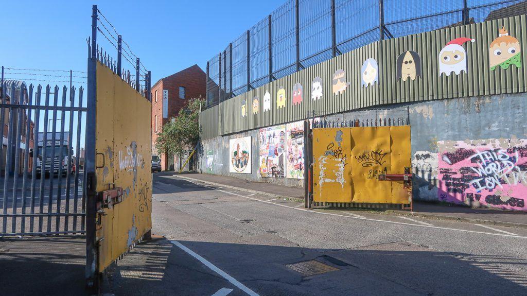 Qué ver en Belfast: Peace Wall